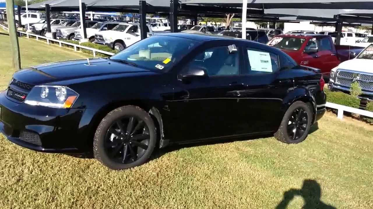 All New Blacktop Dodge Avenger