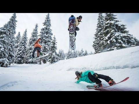 Last video of the Check Republic snowboard brand Horsefeathers that sponsored me for another year!