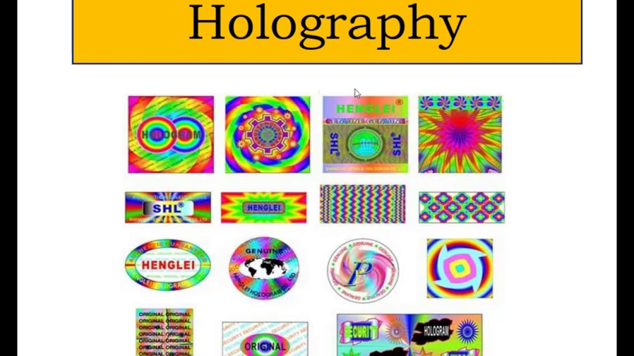 Holography Construction and Reconstruction Master apni Physics