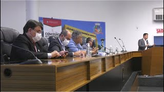 Assembleia discute criação de regiões metropolitanas no Norte de SC