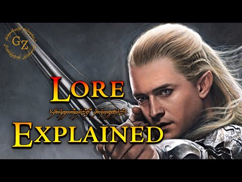 The History Of Legolas – Lord Of The Rings Lore