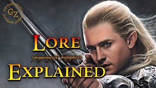 Gambar cover The History of Legolas – Lord of the Rings Lore