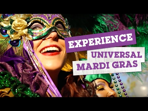 Experience Universal Mardi Gras | Event Overview