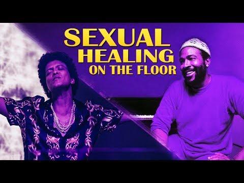 Bruno Mars Vs Marvin Gaye  Sexual Healing On The Floor Mashup