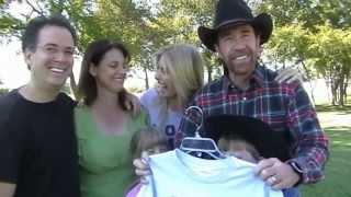 REAL Chuck Norris pushing the Earth down (NO JOKE!) - 2008