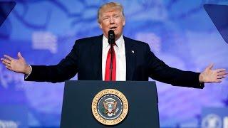 Trump's full speech at CPAC 2017