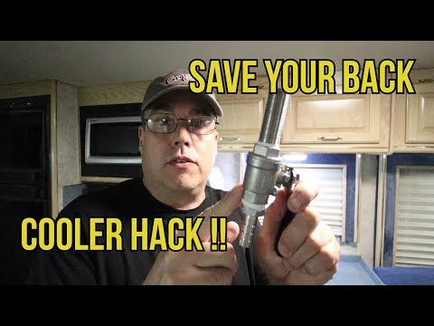 Cooler Hacking how to - Modifying a cooler - no more lifting