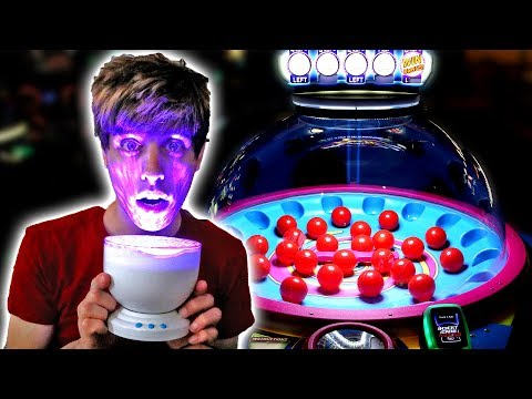 LETS WIN THE WORLD'S COOLEST NIGHTLIGHT AT DAVE AND BUSTERS ARCADE FOR TICKETS! | Arcade Nerd