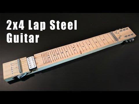 D.I.Y. 2x4 Lap Steel Guitar