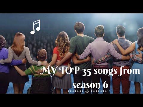 My Top 35 Glee - Season 6 Songs