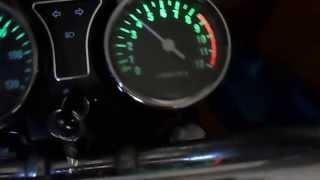 Тахометр на мотоцикле Минск