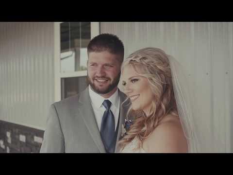 Brittney + Zach // Barker Wedding Film at New Journey Farms