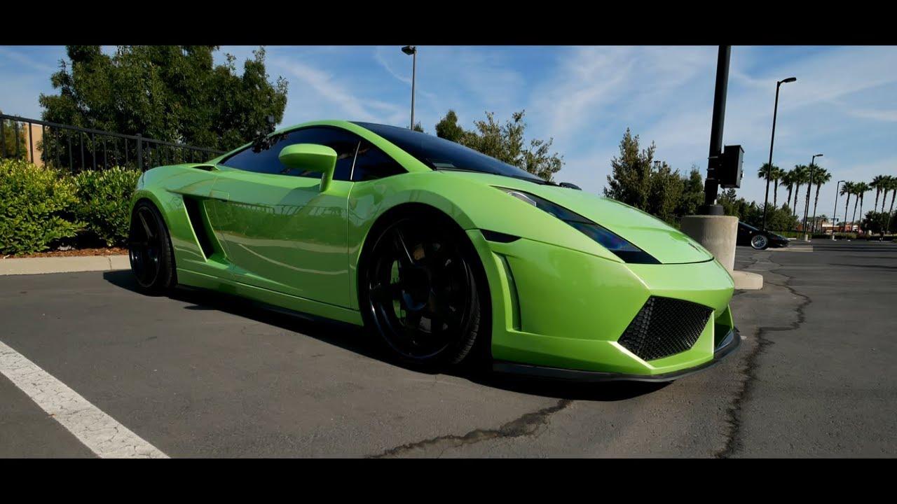 Stunning Lime Green Lamborghini Gallardo Youtube