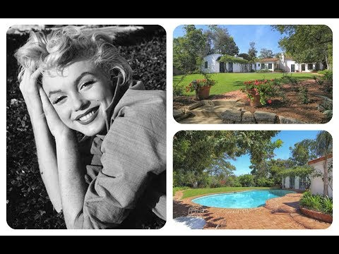 Tour Marilyn Monroe's House In Brentwood, California