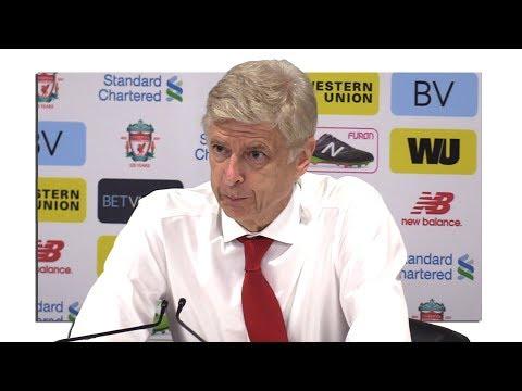 Liverpool 4-0 Arsenal - Arsene Wenger Full Post Match Press Conference - Premier League