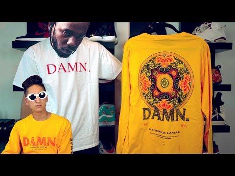 Kendrick Lamar DAMN. Tour Merch Haul!!!!
