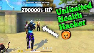 200000% HP 🤔 Health Hacker? In Free Fire #Shorts #Short