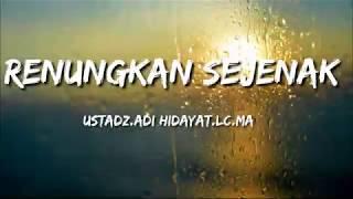 Download lagu RENUNGKAN DIRI SEJENAK |STORY WA KEKINIAN TERBARU 30 DETIK| USTAD ADI HIDAYAT