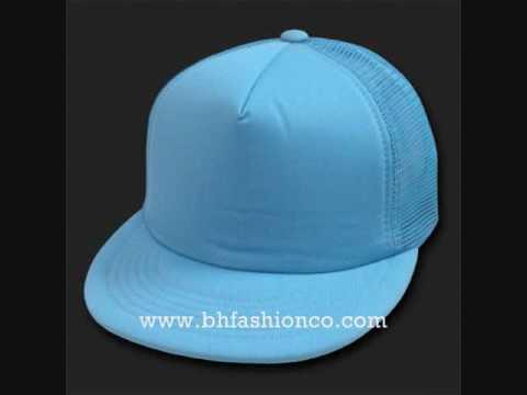 CUSTOM HIP HOP TRUCKER MESH HATS CAPS COLLECTION - WWW BHFASHIONCO COM