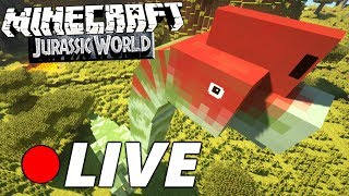 🔴 Minecraft Jurassic World - LIVE aus dem PARK!
