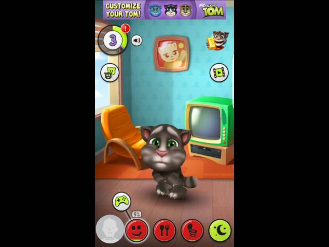 My Talking Tom - Happy birthday to Tom