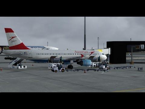 Milan - Vienna | Austrian | A320 | P3D