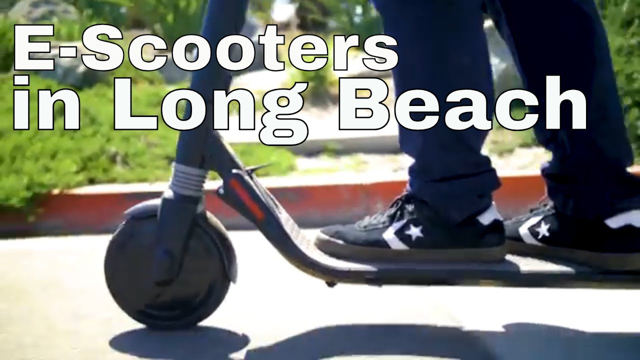 Long Beach Electric Scooter Information From The Police Department