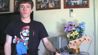 Blink 182- All The Small Things [Bass Cover]