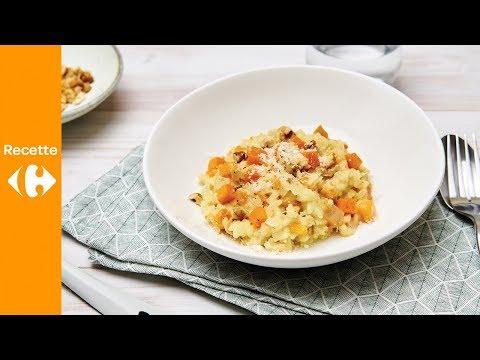risotto-crémeux,-butternut-rôti-et-mascarpone
