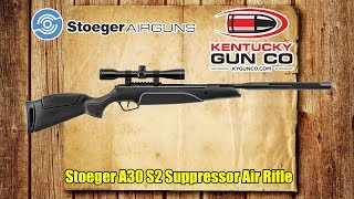 stoeger a30 s2 suppressor air rifle review