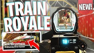 "TRAIN ROYALE! - Apex's NEW Gamemode ""Winter Express"" Gameplay!"