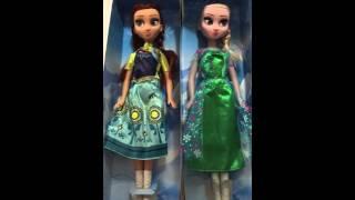 Novas bonecas frozen musical 2015