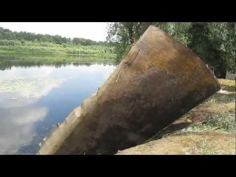 видео: Подъем затонувшей баржи