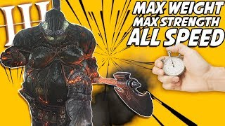 Dark Souls 3 PvP: What Does 130% Weight & MAX Strength Get You? This Build