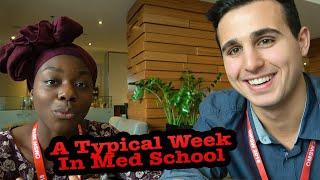 What A TYPICAL WEEK Looks Like In Medical School | Interviews | Darius Med