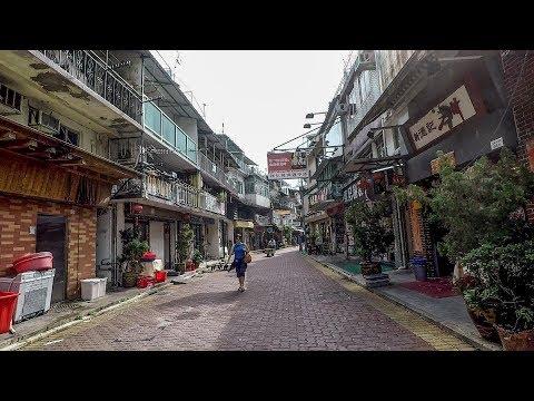 Sai Kung, Hong Kong. A Walk Along the Old Town Roads