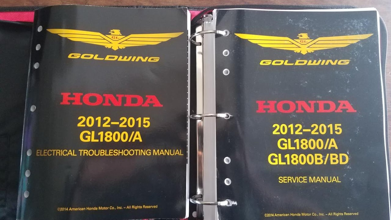 honda goldwing service manual homca   product