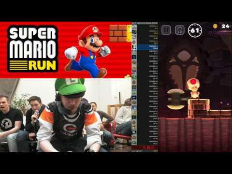 Kwev retente le Record du Monde sur Super Mario Run