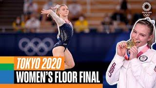 Women's Floor Final   Tokyo Replays