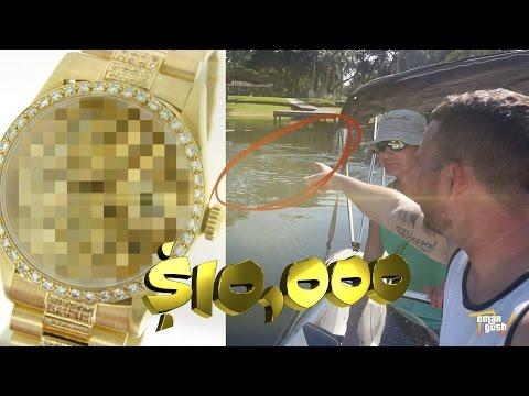 $10,000 Hidden Gold In Lake