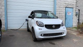 Авто Из Сша 🇺🇸. 2019 Smart - Электромобиль В Казахстан 🇰🇿.