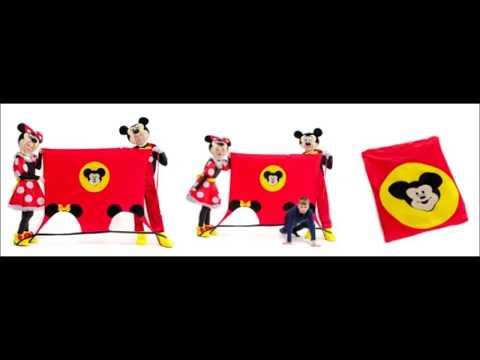 👍 Реквизит для аниматоров — Игровой коврик Микки и Минни Маус — Магазин GrandStart.ru ❤️
