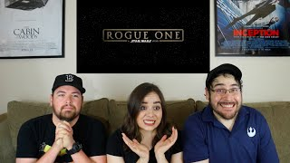 "Rogue One ""A STAR WARS STORY"" - First Full Trailer Reaction"