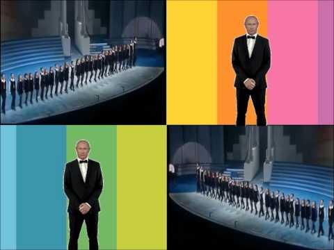 Vladimir Putin Sings us a Song