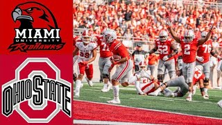 Miami OH vs 6 Ohio State Highlights  NCAAF Week 4  College Football Highlights