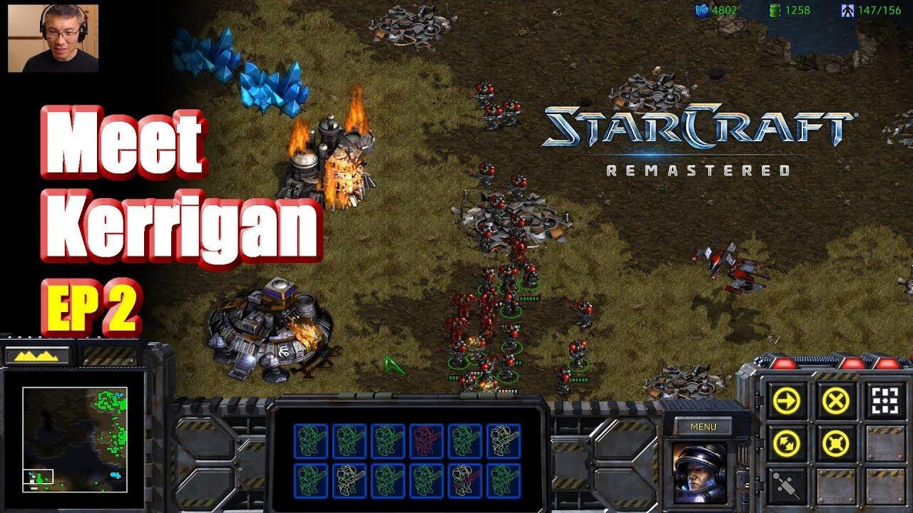 Starcraft Remastered Meet Lt Sarah Kerrigan Day 2