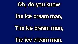 Muffin Man, Karaoke video with lyrics, instrumental version