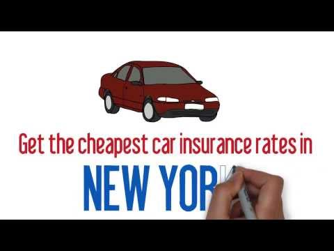 Best Auto Insurance Rates NY. - Compare Cheapest Prices