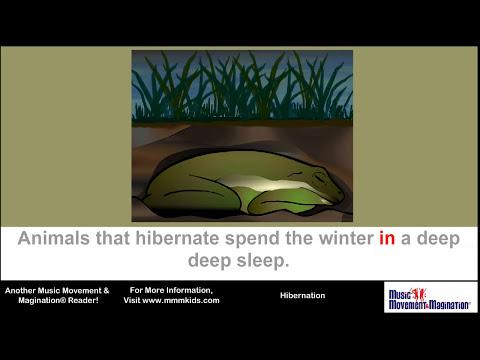 HIbernation Read-along Sing-along Video