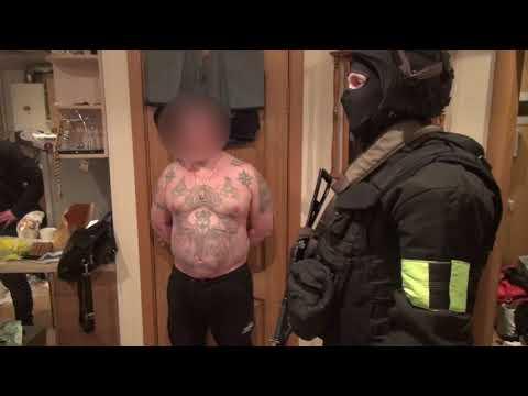 Задержание главаря воронежской банды рэкетиров